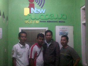 Silaturahmi TIM dengan New SWADEWA FM